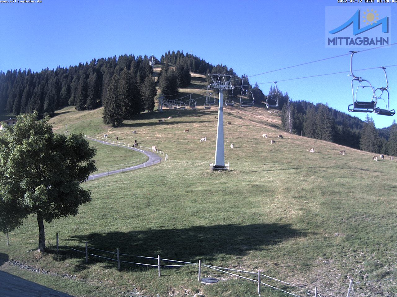 Webcam Skigebiet Immenstadt - Mittag cam 5 - Allg�u