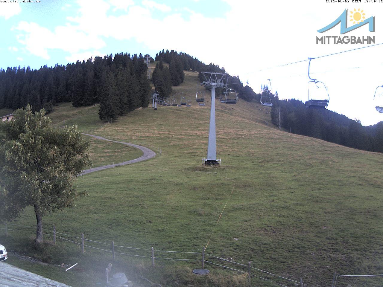 Webcam Skigebied Immenstadt - Mittag cam 5 - Allg�uer Alpen
