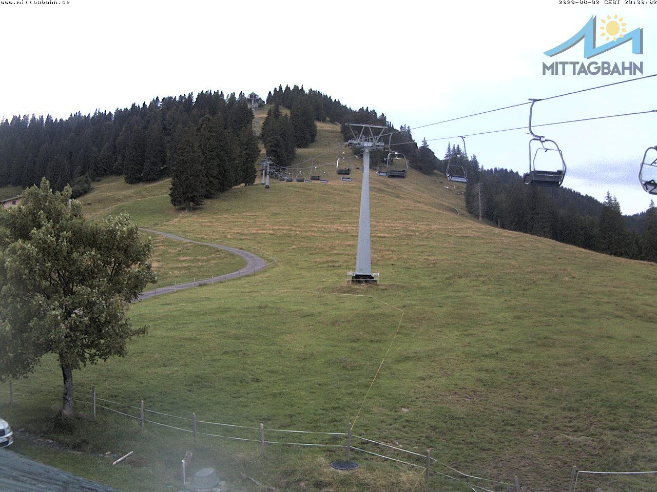 Webcam Ski Resort Immenstadt - Mittag cam 4 - Bavaria Alps - Allgäu
