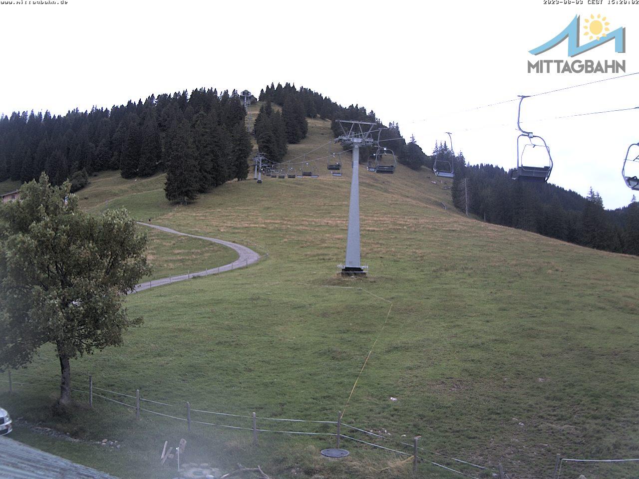 Webcam Skigebiet Immenstadt - Mittag cam 4 - Allgäu
