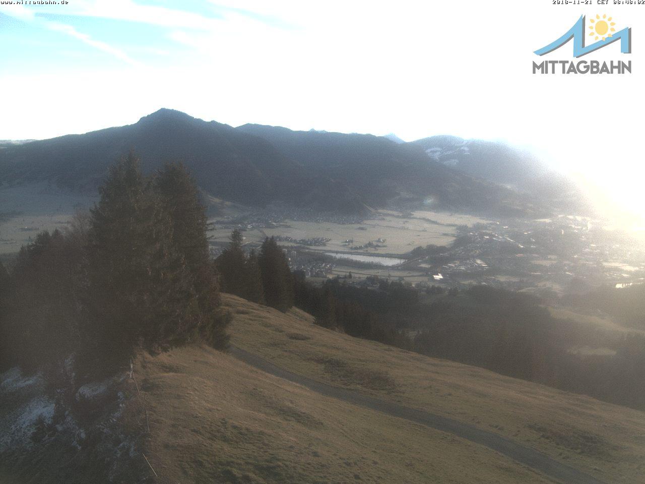 Webcam Skigebied Immenstadt - Mittag cam 6 - Allgäuer Alpen