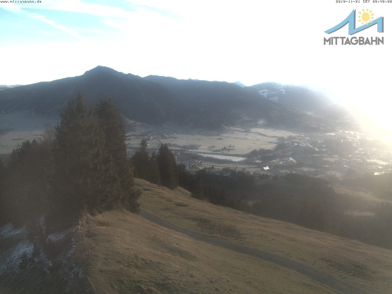Webcam Ski Resort Immenstadt - Mittag cam 6 - Bavaria Alps - Allgäu