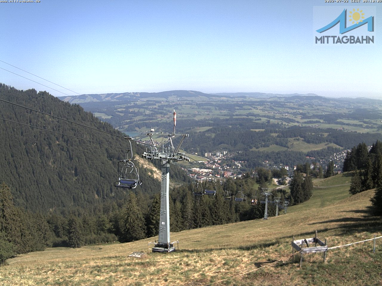 Webcam Skigebiet Immenstadt - Mittag cam 8 - Allg�u