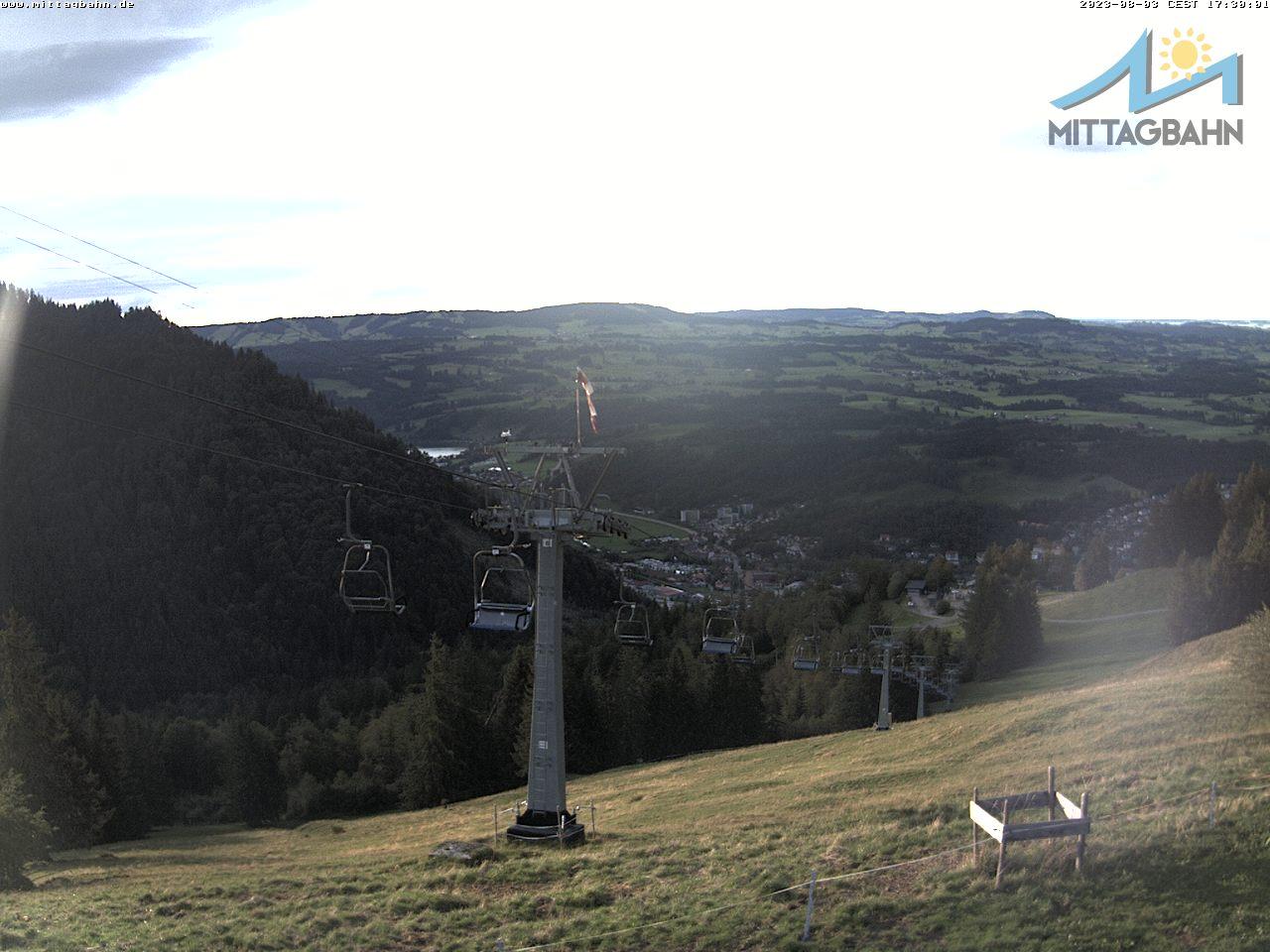 Webcam Skigebied Immenstadt - Mittag cam 8 - Allgäuer Alpen