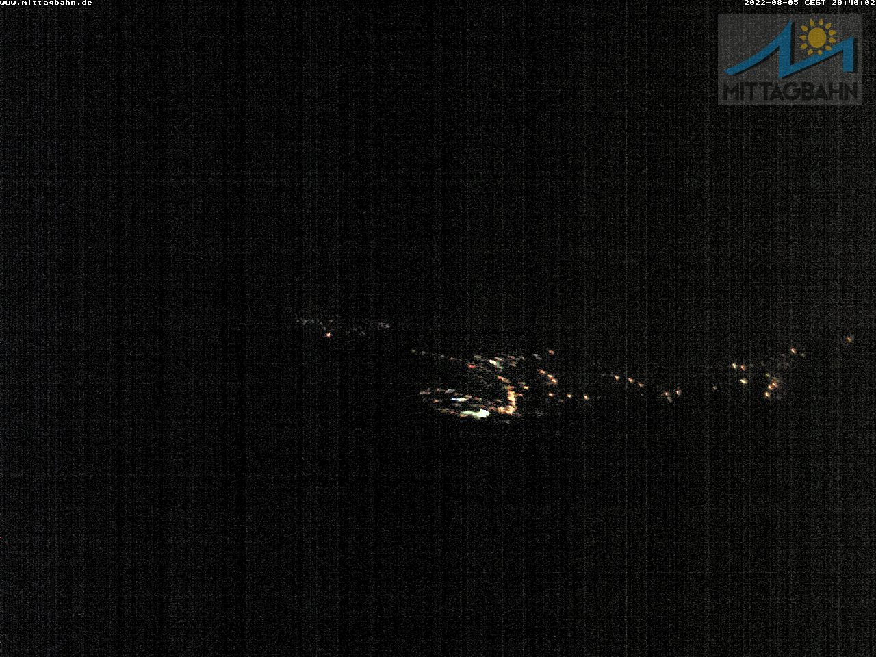 Webcam Ski Resort Immenstadt - Mittag cam 7 - Bavaria Alps - Allgäu