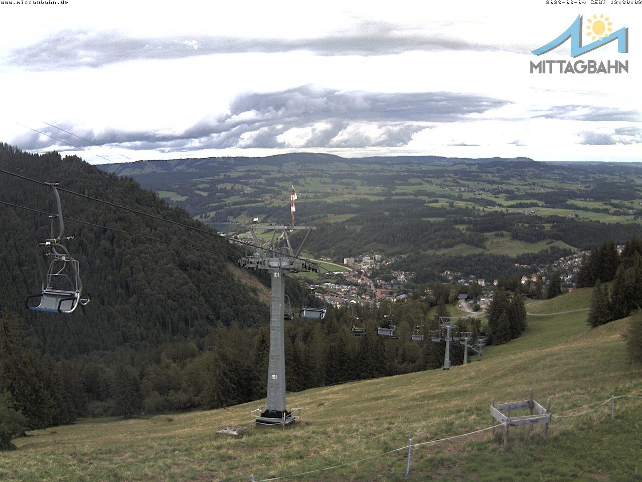 Webcam Skigebiet Immenstadt - Mittag cam 8 - Allgäu