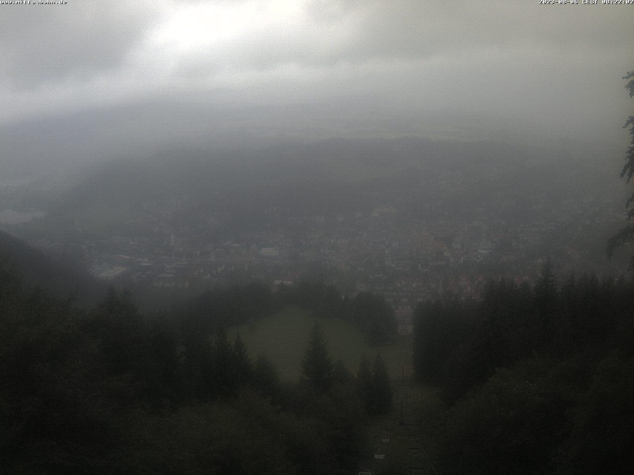 Webcam Ski Resort Immenstadt - Mittag von der Mittelstation - Bavaria Alps - Allg�u