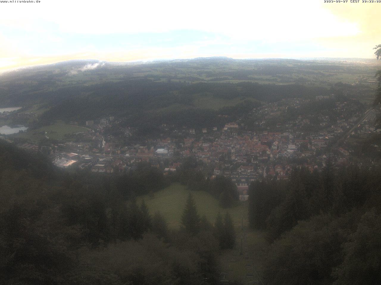 Webcam Skigebied Immenstadt - Mittag von der Mittelstation - Allg�uer Alpen