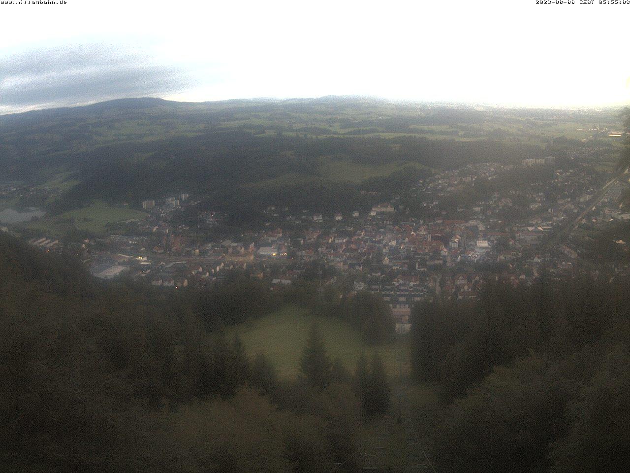 Webcam Skigebiet Immenstadt - Mittag von der Mittelstation - Allg�u