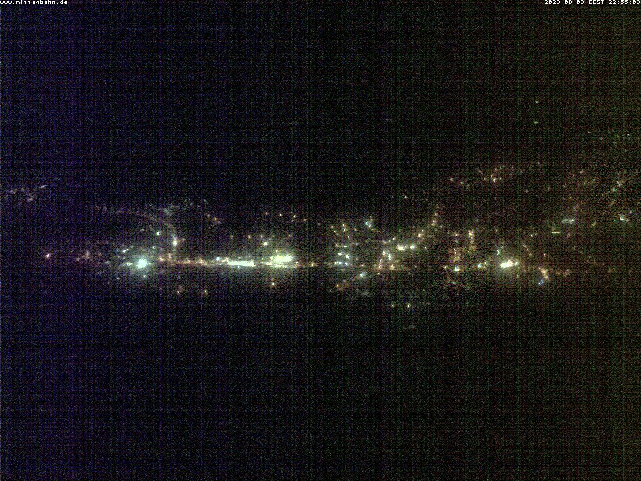 Webcam Skigebied Immenstadt - Mittag von der Mittelstation - Allgäuer Alpen
