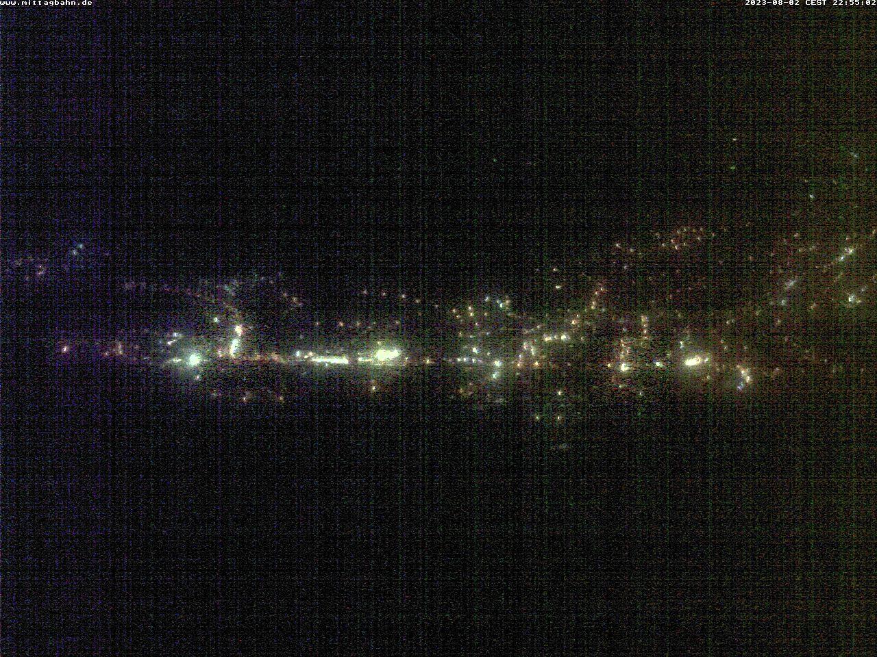 Webcam Skigebiet Immenstadt - Mittag von der Mittelstation - Allgäu