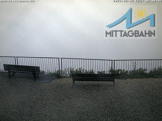 Mittaggipfel: Blick in Richtung Rettenberg