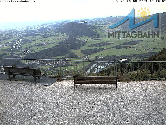 Webcam Skigebiet Immenstadt - Mittag cam 2 - Allg�u