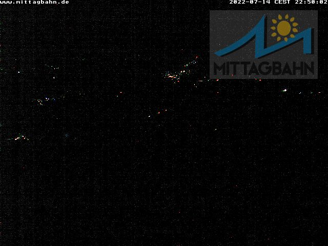 Webcam Ski Resort Immenstadt - Mittag cam 2 - Bavaria Alps - Allgäu