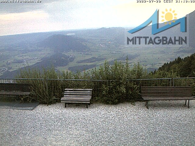 Webcam Skigebiet Immenstadt - Mittag cam 2 - Allgäu