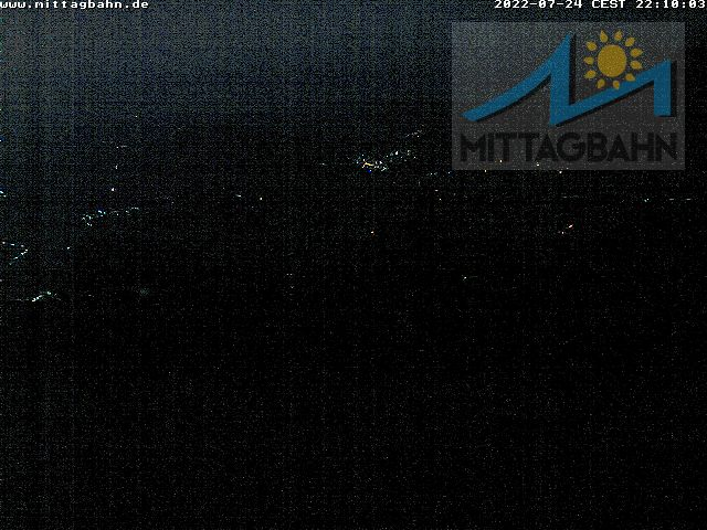 Webcam Ski Resort Immenstadt - Mittag cam 2 - Bavaria Alps - Allgäu