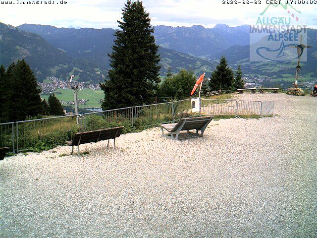 Webcam Skigebiet Immenstadt - Mittag cam 3 - Allg�u