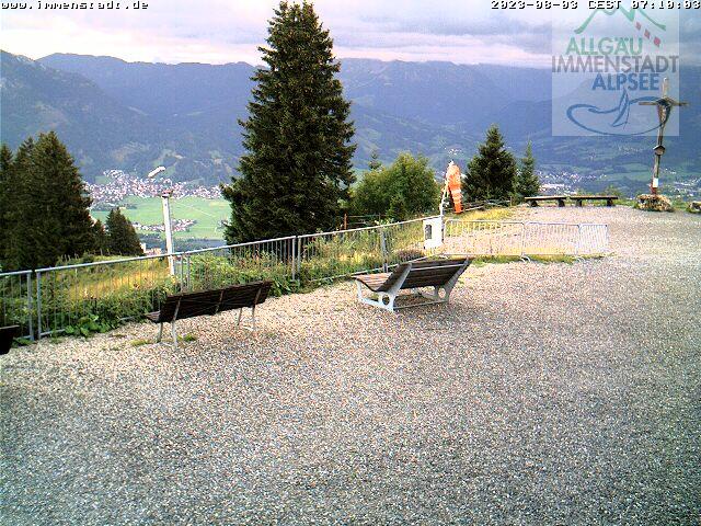 Webcam Skigebied Immenstadt - Mittag cam 3 - Allg�uer Alpen