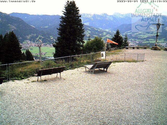 Webcam Skigebied Immenstadt - Mittag cam 3 - Allgäuer Alpen