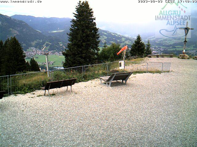 Webcam Skigebied Immenstadt - Mittag cam 2 - Allgäuer Alpen