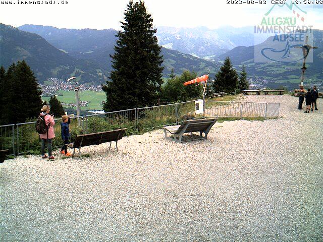 Webcam Skigebiet Immenstadt - Mittag cam 3 - Allgäu