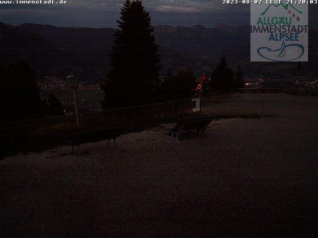 Webcam Ski Resort Immenstadt - Mittag Bavaria Alps - Allgäu